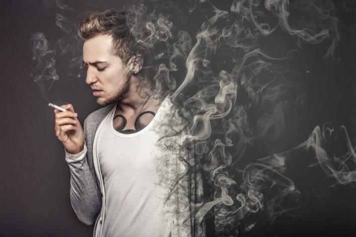 التدخين على لاعبي كمال الأجسام