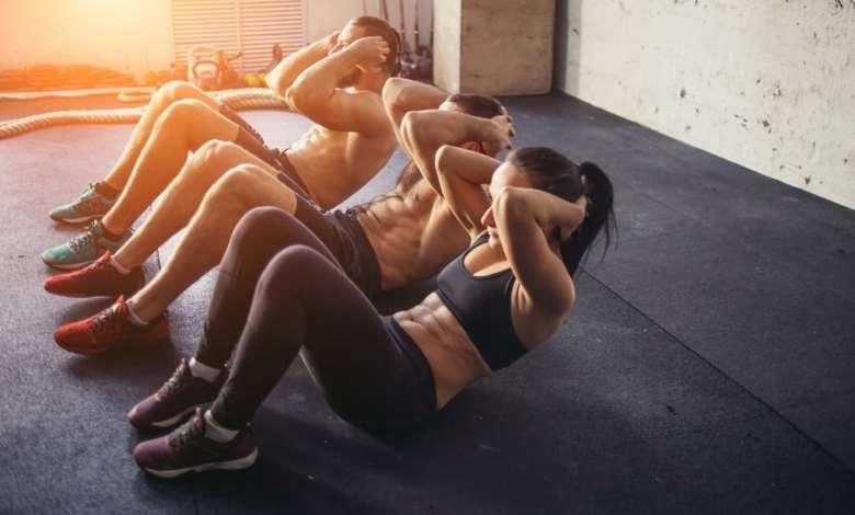 اداء التمارين