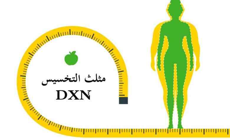 مثلث التخسيس dxn