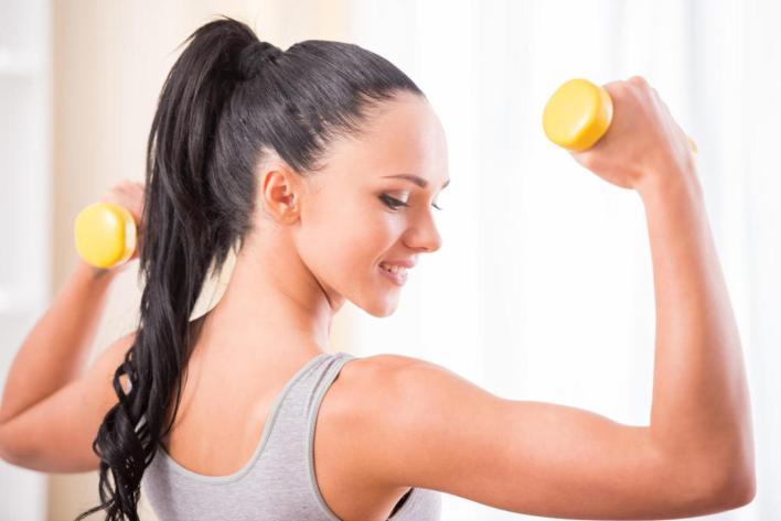 جدول تمارين لزيادة الوزن للنساء
