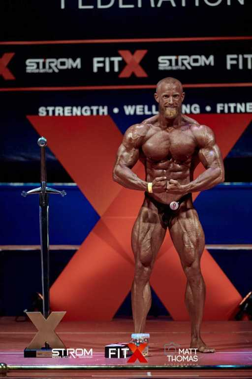 Chriss Swann Overall winner at Fit X Leeds