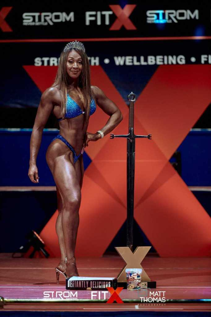 Natalie Moncrieffe Overall winner at Fit X Leeds