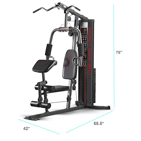 MARCY 150 LB STACK HOME GYM | MWM-990