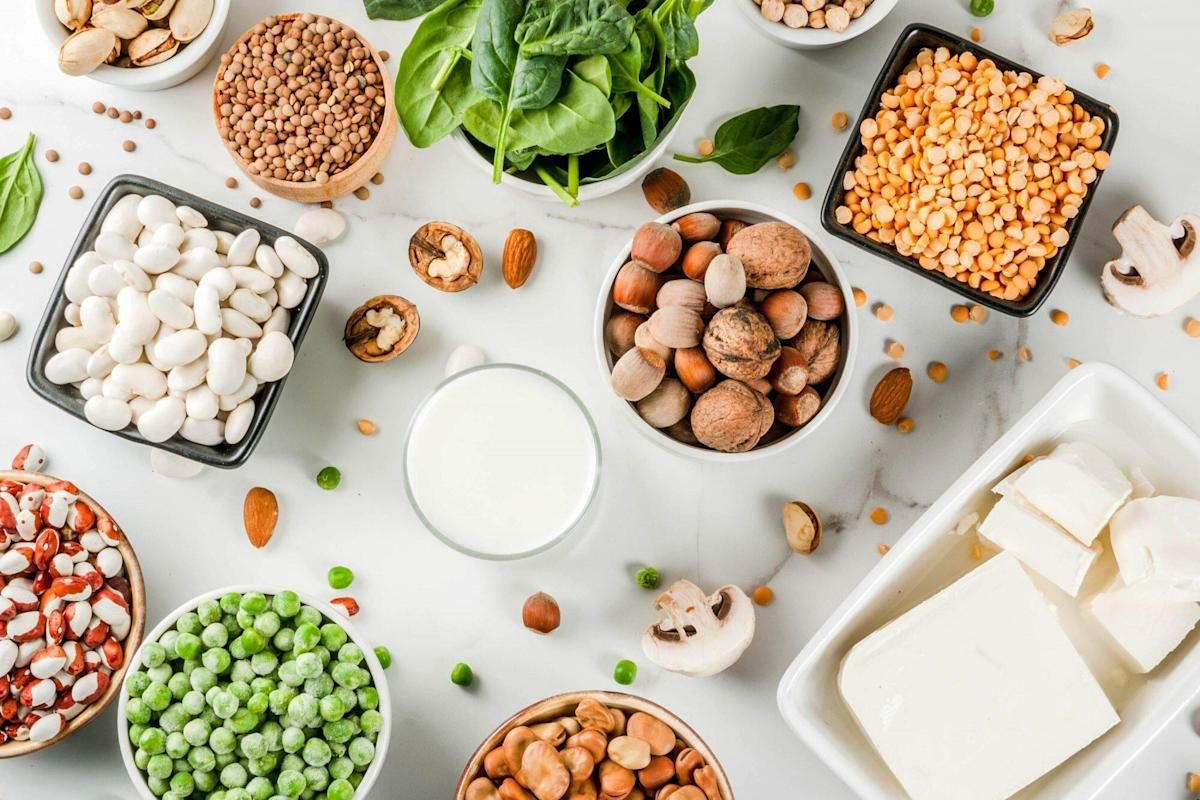 High Protein Foods For Building Muscles