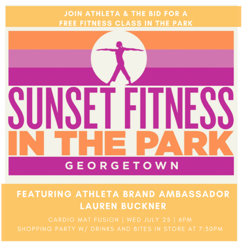 Body By Buckner at Georgetown Waterfront, Plus Private Shopping at Athleta