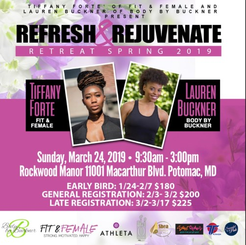 Refresh and Rejuvenate Retreat