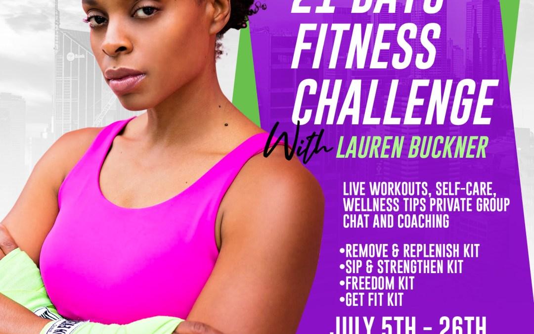 21 Days – Fitness Challenge