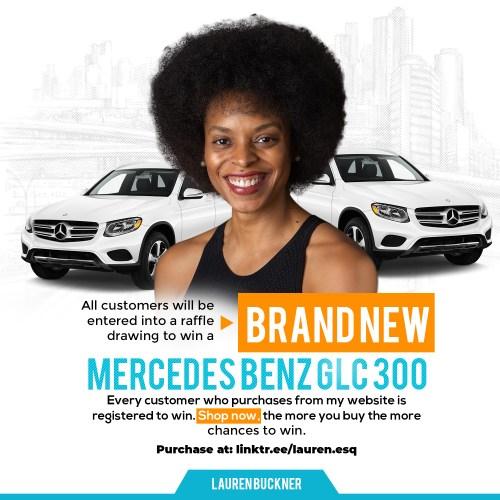 Mercedes Benz Giveaway