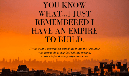 Focus…Remember I Have a Elevation-conscious Empire to Build.