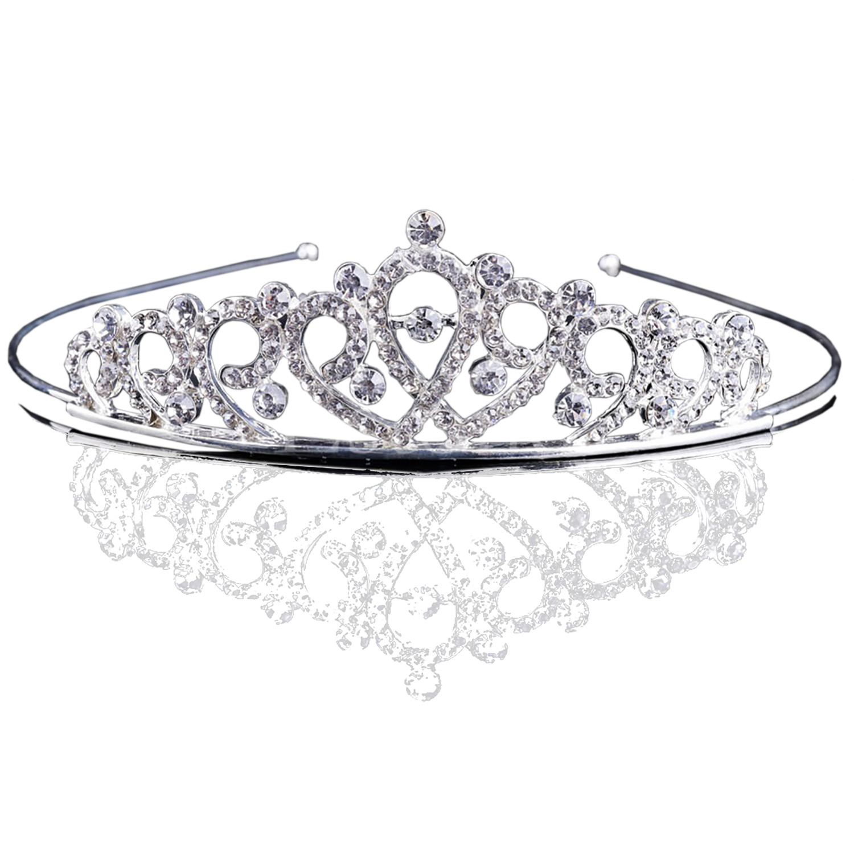 Bejeweled Princess Headband Tiara With Stunning Rhinestone