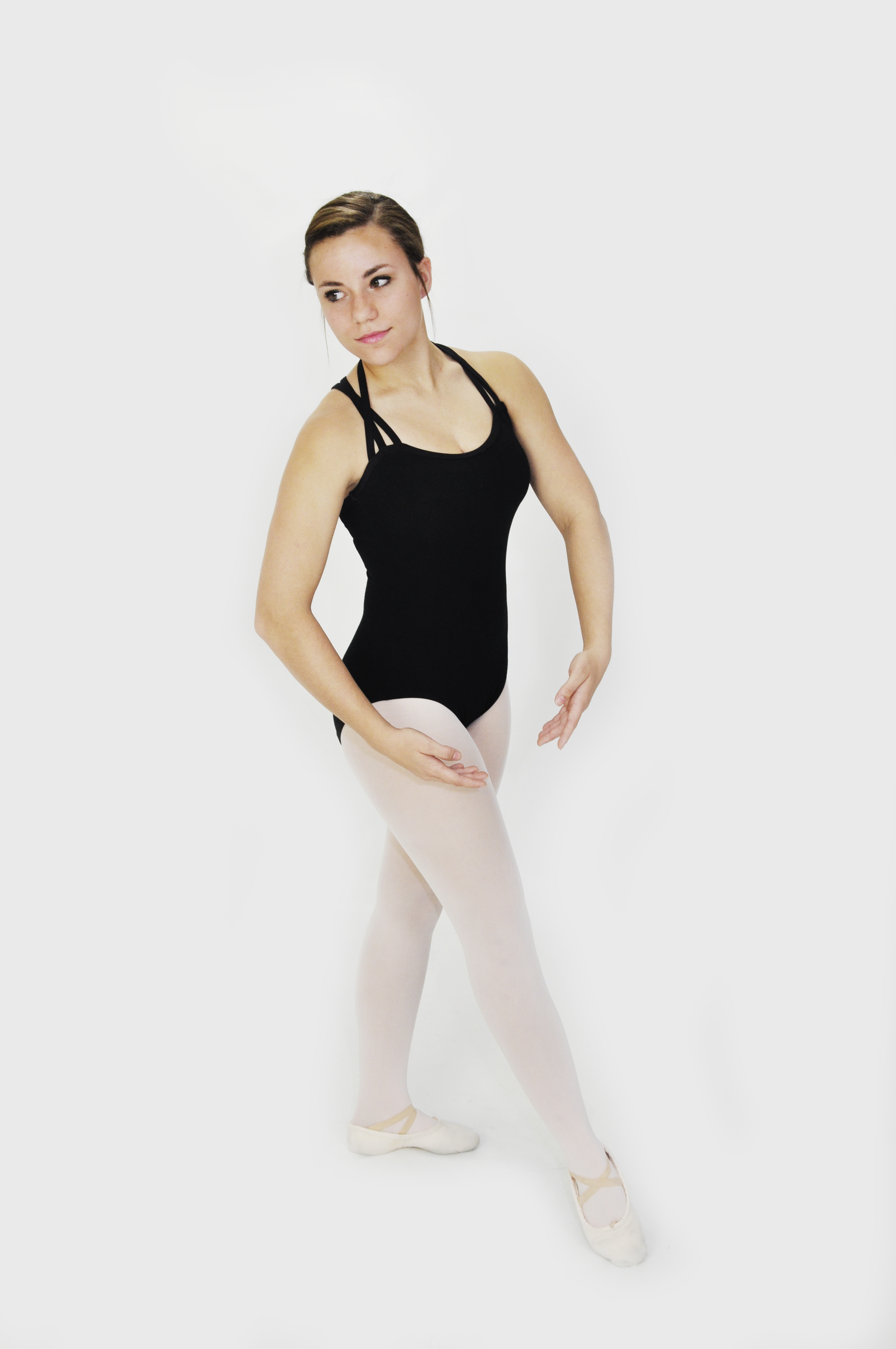 b5fffac276aa All female ballet students must wear a solid black leotard in any style,  Body Wrappers theatrical pink tights, and pink canvas ballet shoes.