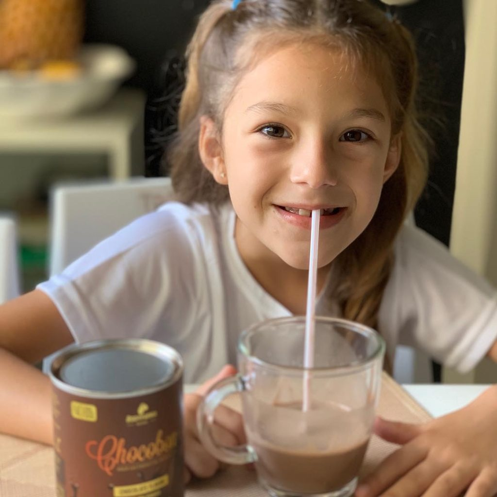 Achocolatado vitamínico para crianças