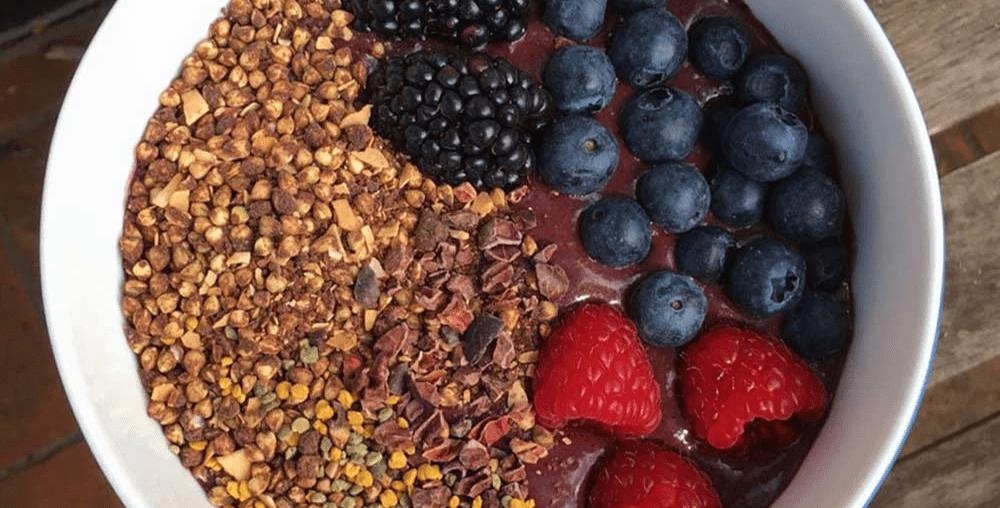 Açaí com Cacao Protein, Chocobon e Xylitol+