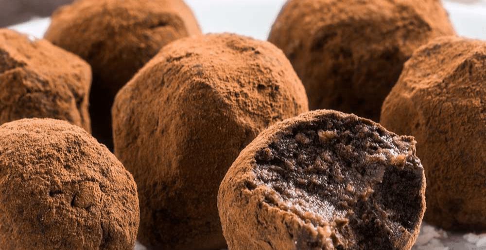 Trufas de Chocolate com whey Cacao Protein