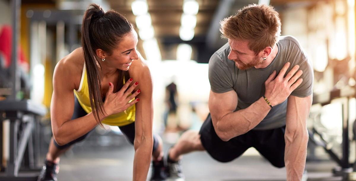 Casal fitness: estilo e hábitos influenciam o parceiro