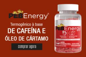 Termogênico Natural PEB Energy Bodyfarma Nutrition