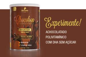 Achocolatado polivitamínico Chocobon com DHA sem açúcar