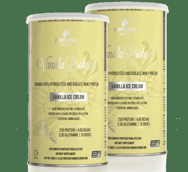 Combo 2 Vanilla Whey Protein Ice-Cream 450g