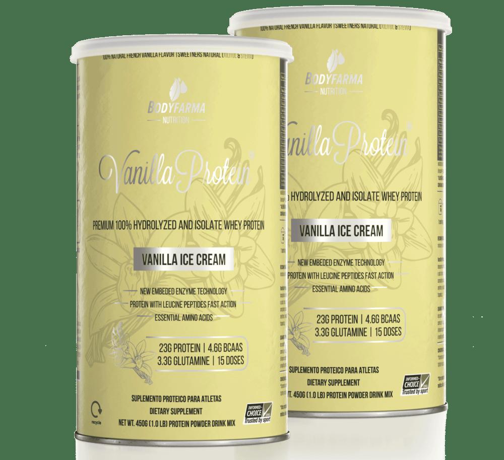 Combo 2 Whey Vanilla Protein Ice-Cream 450g