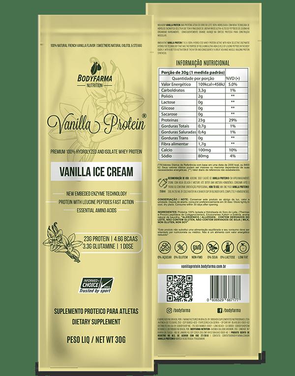 Sachê de whey Vanilla Protein