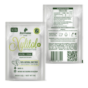 Adoçante natural Xylitol+ em sachê