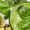 Receita de Vitamina de Maçã e Espinafre para emagrecer e dar energia