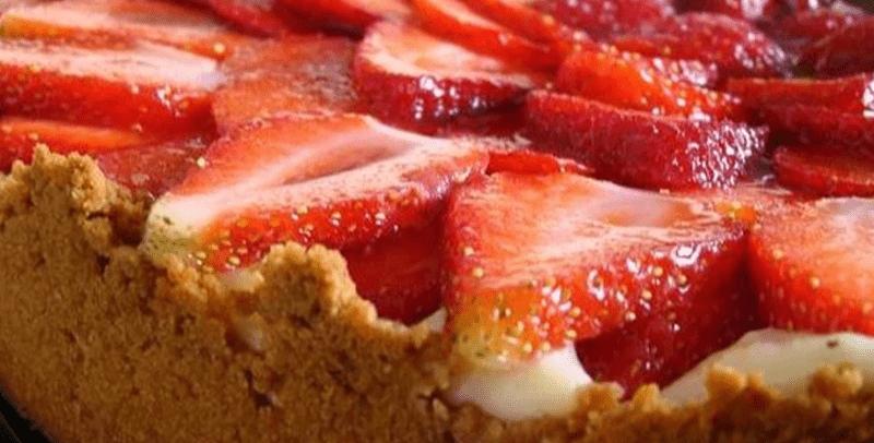 Torta de Morango Fit