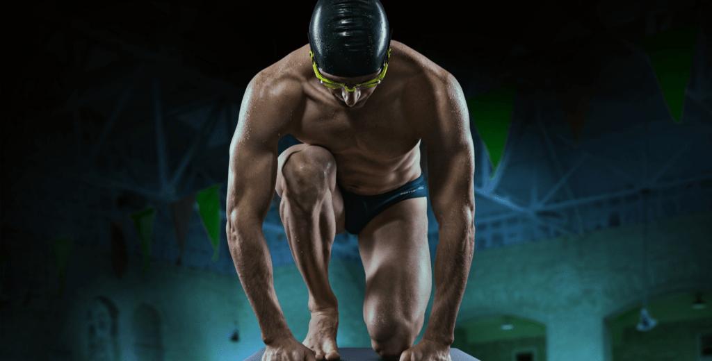 Natação ajuda na definição muscular