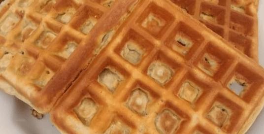 Waffles de Whey Vanilla Protein