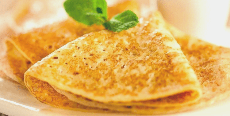 Crepe Fit de Whey com Vanilla Protein