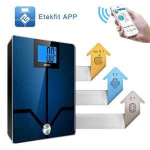 Etekcity Bluetooth Smart Body Fat Scale-2