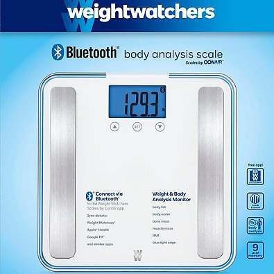 Weight watchers scale target perfect img with weight for Perfect drink bluetooth scale
