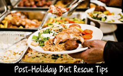 Post-Holiday Winter Weight Loss Diet Rescue Tips   How to Keep One Day of Over-Indulging from Completely Derailing your Diet