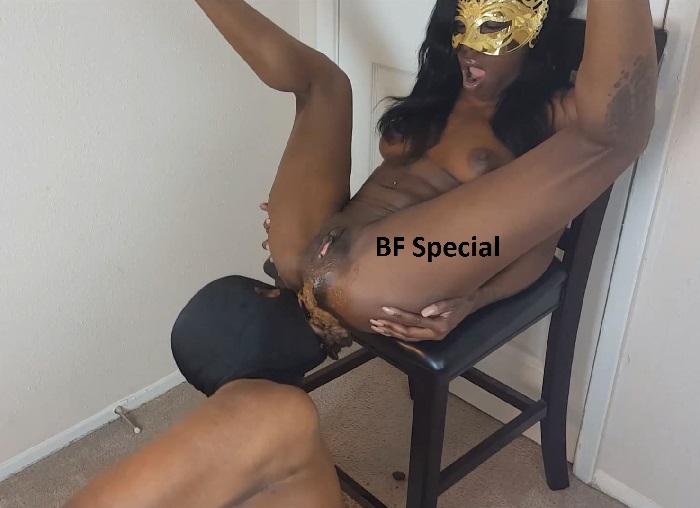 Ebony Shit On Dick