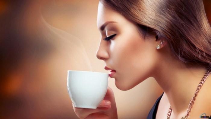 Female Coffee Drinker