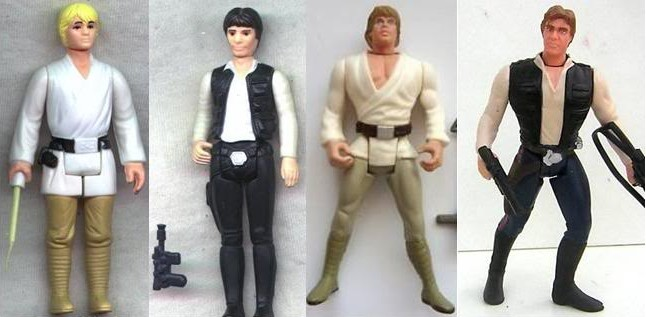 Han Solo Evolution