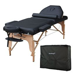 BestMassage Pad Reiki Portable Massage Table