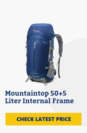 Mountaintop 50L Hiking Backpack Review