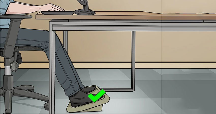 Best Under Desk Foot Rest in 2019 - Home | Workstation or Office Footrest Under Desk