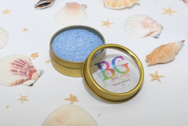Body Glitz Aquamarine Natural Body Glitter 1oz