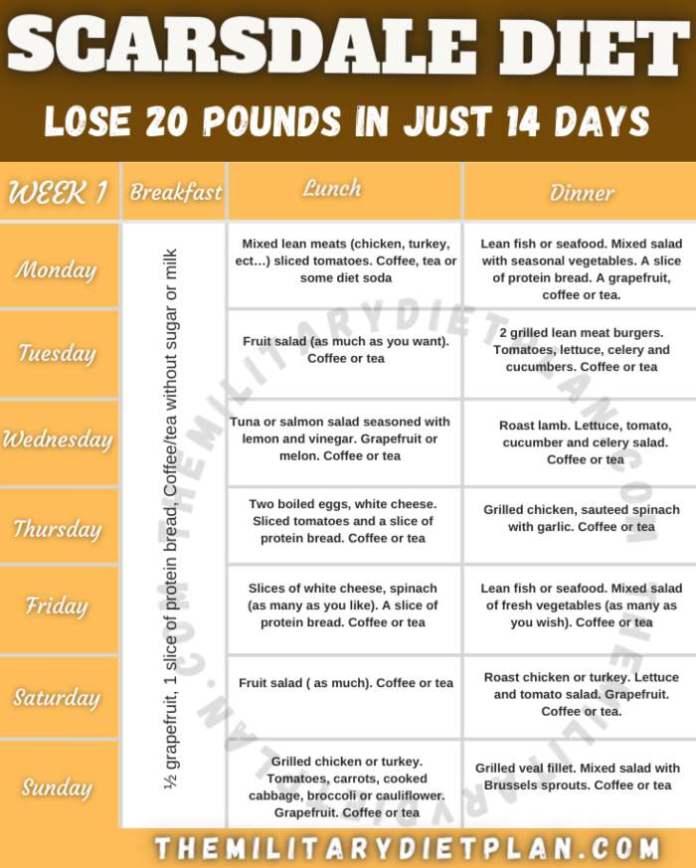 Scarsdale Diet
