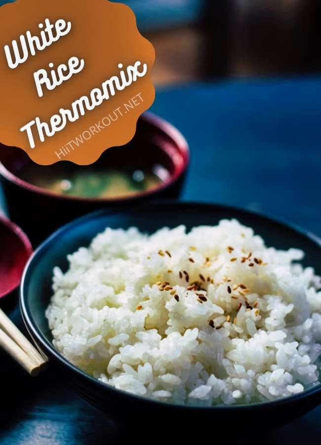 how to cook white rice in Thermomix