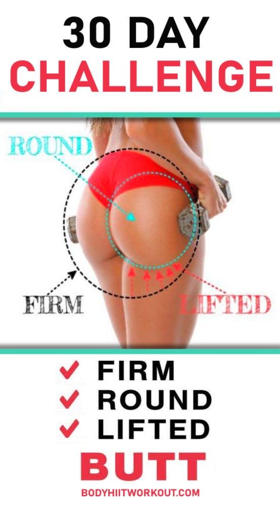 30 day butt lift challenge