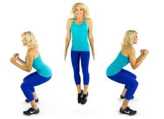 180 squat jumps