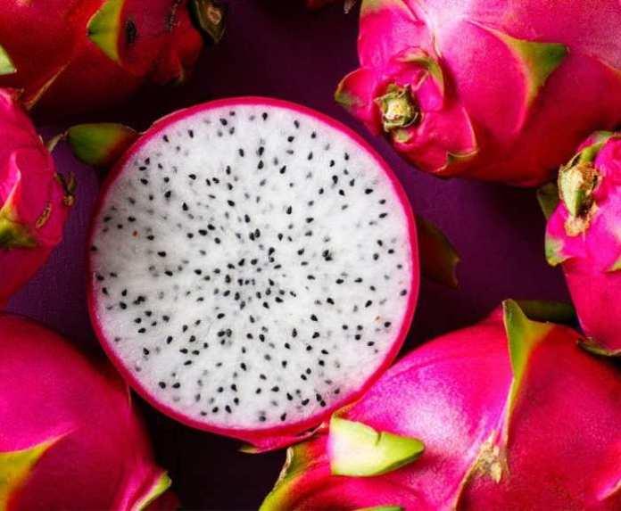 pink fruits