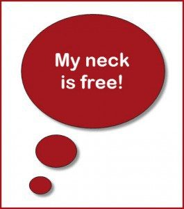 my neck is free