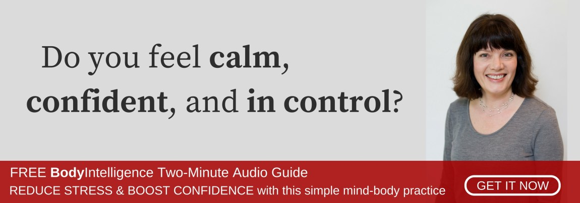Reduce Stress and Boost Confidence with the FREE two-minute audio guide