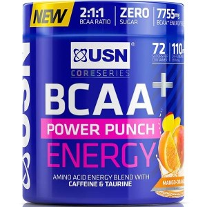 USN BCAA Power Punch with Energy 400g