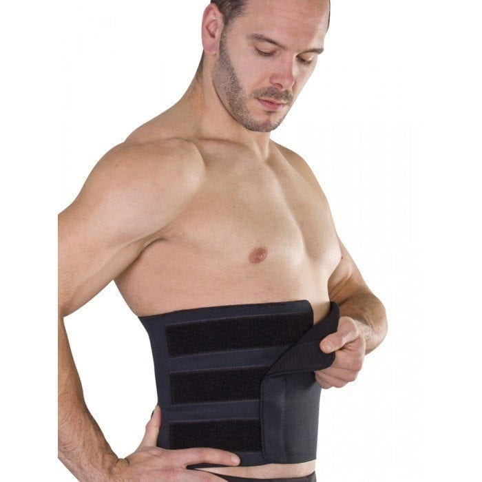Black Abdominal Binder Support Australia