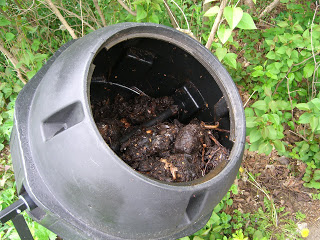 Gardener's Supply barrel compost tumbler